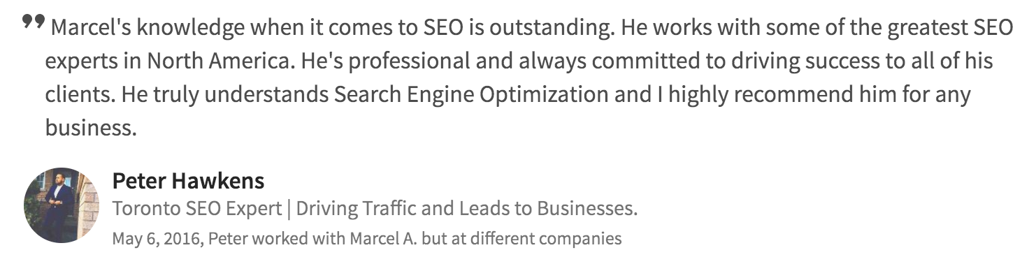 seo web development testimonial 7